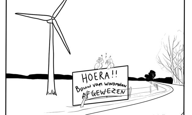 Protesterende Amersfoorters te snel uitgegaan van winst tegen windmolenplan