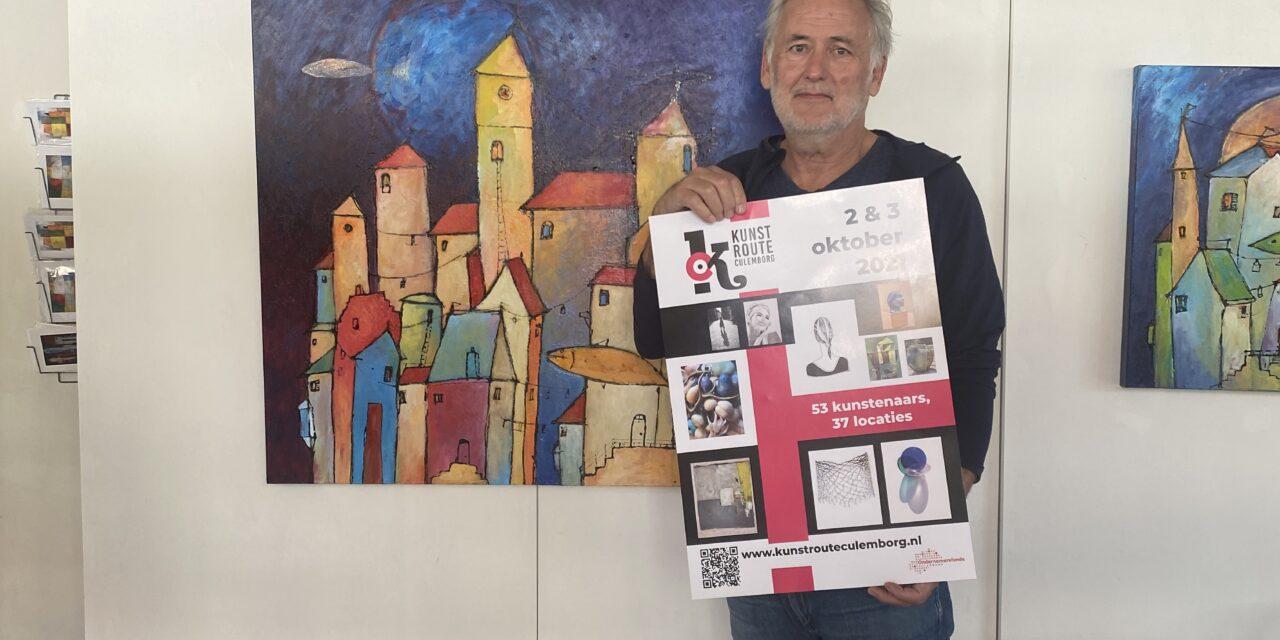 Kunstroute Culemborg biedt meer dan 50 kunstenaars een podium
