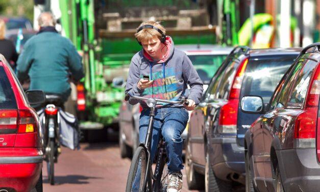 Culemborg coulant over appen op de fiets