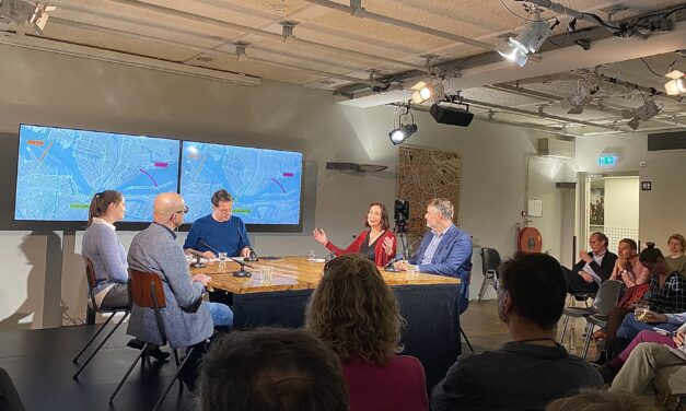 Pakhuis de Zwijger introduceert 'De sprong over het IJ'