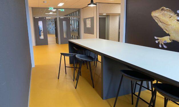 Pieter Groen start schoolseizoen met vernieuwd gebouw