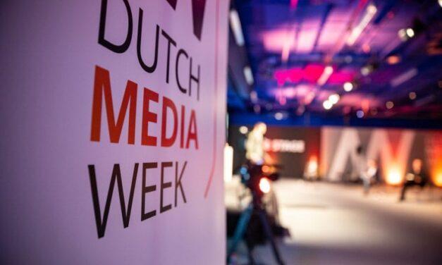 """Dutch Media Week """"Viering van de media met een boodschap."""""""