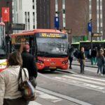 Clean Team te werk in Hilversumse bussen