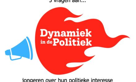 5 vragen aan… jongeren over hun politieke interesse
