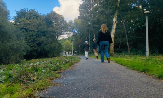 Kilometers wandelen voor mentale welzijn in de week van de mentale gezondheid