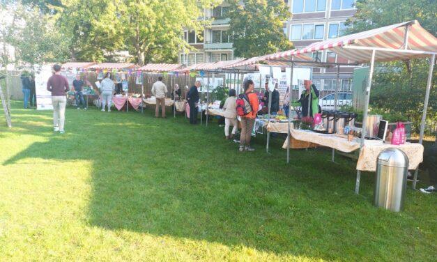 Buurtmarkt voor een duurzame toekomst op Kanaleneiland